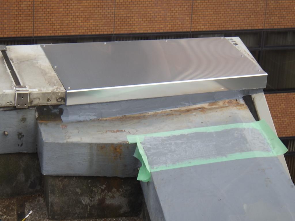 <p>完了後の屋上防水の様子</p>