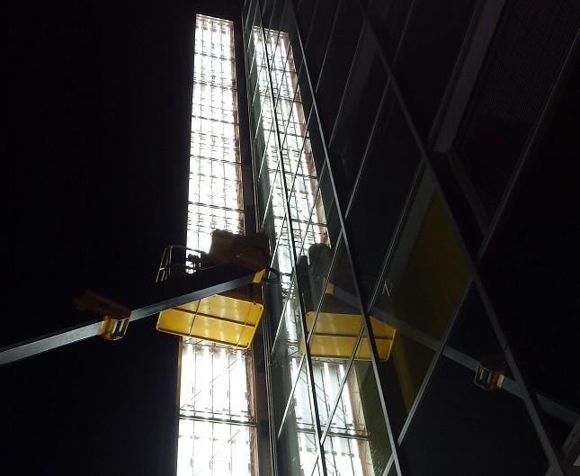 袖看板 漏電調査 蛍光灯器具交換 安全点検作業 渋谷区
